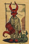 Young Hellboy by DenisM79