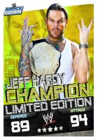CHAMPION JEFF HARDY CARD by Patrick75020