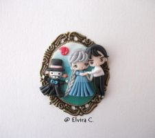 Howl's moving castle cameo by elvira-creations