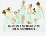 SHARE PACK 9 PNG CUT BY THUPHAM by TP4ever