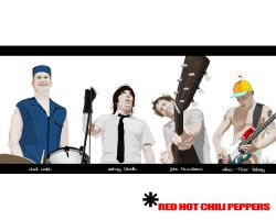 Red Hot Chili Peppers by donbenni