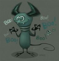 Monsterboo by Kravenous