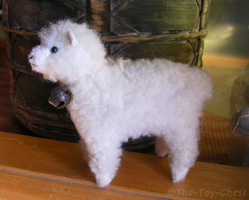 AuGres Miniature Sheep Plush by The-Toy-Chest