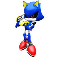 Metal Sonic New Render by Nibroc-Rock