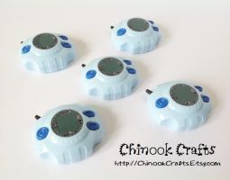 Digimon Adventure Digivice Prop by ChinookCrafts