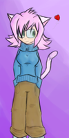 Whee Catgirl -coloured- by Wonchop