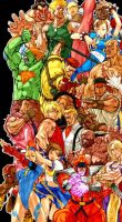 Street Fighter ID by Eshima