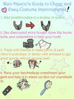 Cheap and Easy Costume Guide by Reine-Haru