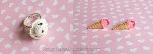 Ice Cream Jewelry by CantankerousCupcake