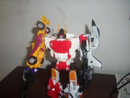 Superion with Retro Arms by NeonGenesisGuyverIII