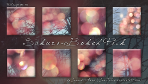 Sakura Bokeh Pack by JaM-FaiRY