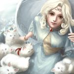 Cat lady by Furea93