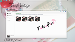 Tema Iconpackager Vintage by TutosPixi