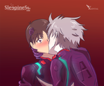 KawoShin -Neon Genesis Evangelion- fan art by sleepinesss