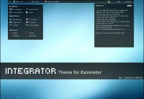 Integrator Theme for Rainmeter by raingaugedesigns