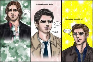 Supernatural fanfic : Tsundere-Dean #1 from S8.08 by noji1203