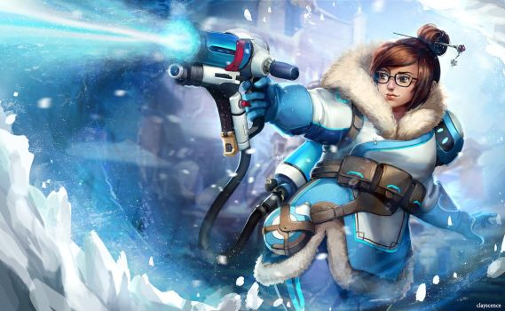Mei by clayscence
