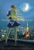 Codename: Sailor V by RohanElf