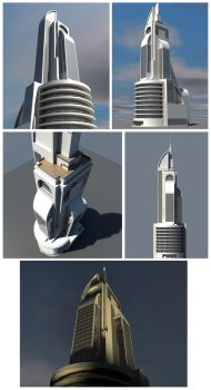 Sketchup model by Arhito