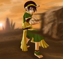 Avatar: Toph Bei Fong by pen-gwyn