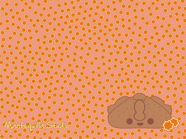"Wallpaper ""Pan de muerto"" by MantequillaStudio"