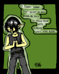 .:O Green World - SAI - Color by GhostOf-KNIGHTMARE