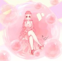 Princess bubblegum by Angie-Jagger