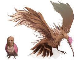 Spearow - Fearow by MrRedButcher