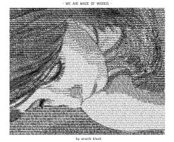 wearemadeofwords.PRINT.VERSION by sunfairyx