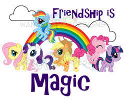 MLP_FiM_BagDesign by wanabiEPICdesigns
