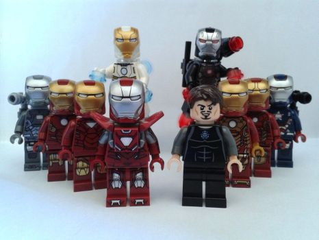 Iron Men (4) by Anonyme003
