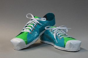 Duct Tape Shoes by Argentum92