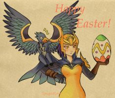 Happy Easter! [Quinn version] by SpigaRose