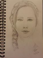 Katniss by RivkaS