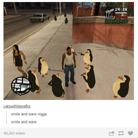 The Penguins Of San Andreas by mrlorgin