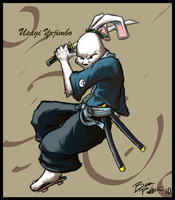 Usagi Yojimbo by ChaserTech