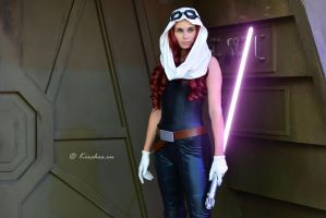 Starwars - Mara Jade Skywalker by Kirchos