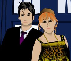 The Doctor And Donna by haveacookie