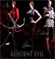 RE 6 Ladies - Ready to Action by AliceWesker