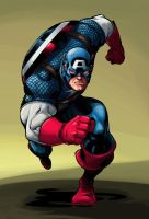 Captian America Colors by DerekLaufman