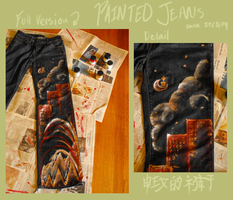 Painted Jeans by Lowland-Swagger