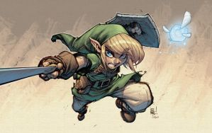 Link by Joe Mad! by Ross-A-Campbell
