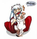 inuyasha loves kagome's kitty by starplexus