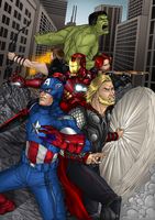 The Avengers by RyemSalim