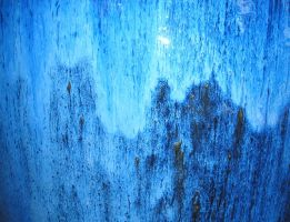 Blue Venetian Glass Texture by powerpuffjazz