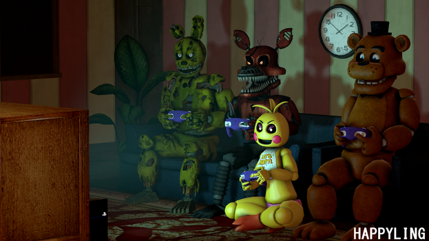 [SFM FNAF] Players by Happyling
