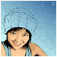 beanie self portrait by sun2197