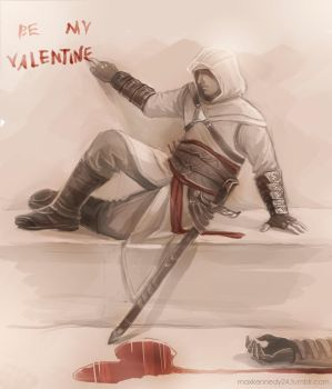Assassin's Creed - Be my valentine by maXKennedy
