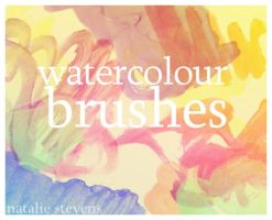 watercolour brush pack 001 by pspnerd