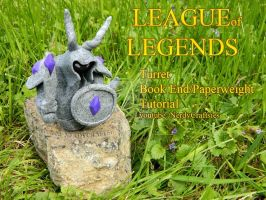 League of Legends Turret Paperweight / Bookend by NerdEcrafter